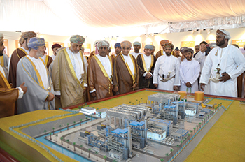 Launch of the greenfield Salalah 2 IPP in Salalah, Oman ... 445 MW capacity.
