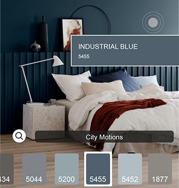 Jotun's ColourDesign app ... simplifying the process of colour selection.