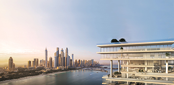 One Palm ... to feature the Middle East's first residential complex managed by Dorchester Collection.