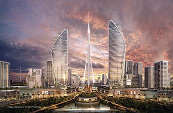 The Dubai Creek Tower ... which will exceed the height of Burj Khalifa.