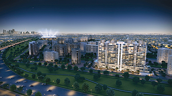 Azizi Grand will boast a total of 431 apartments.