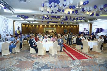 Ashok Leyland celebrated 10 years of its presence in Saudi Arabia.