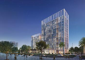 Collective ... an innovative co-living concept in Dubai Hills Estate.