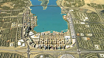 Jubail Two Industrial City is one of the largest civil engineering projects in the world.