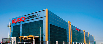 Euro Auctions' facilities in Jebel Ali
