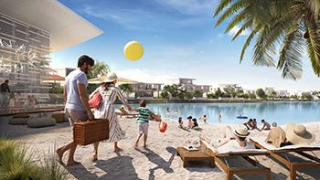 Hive Beach on the Lagoon Al Ghaf.