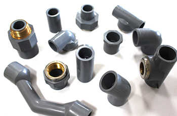 Gulfplas manufactures a wide range of fittings including PPR and cPVC with brass inserts.