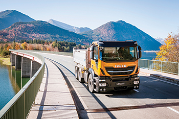 The Stralis X-Way ... gas versions offered.