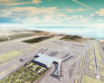 The Istanbul New Airport ... on target to open on October 29 this year.