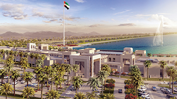 Kalba Waterfront ... set in a serene and beautiful environment.