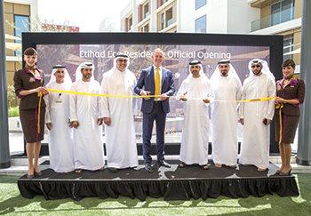 Officials inaugurate the Etihad Eco Residence