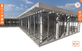 RMD Kwikform's LocusEye provide customers with a realistic model of how any solution looks on site.