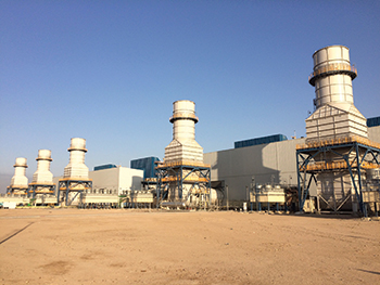 The Rumaila power plant in Iraq ... a 700-MW upgrade project by Siemens.