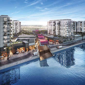 Water's Edge by Aldar Properties ... complete outdoor lifestyle with pedestrian access to all amenities.