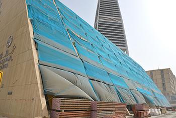 Al Faisaliah District ... under redevelopment.