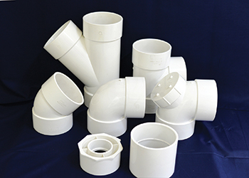 Gulfplas can process PVC, cPVC, PPR, LDPE and HDPE polymers on 14 extrusion lines.