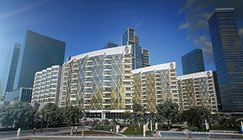 WaterBay at Bahrain Bay ... Bin Faqeeh is building the Hollywood-concept units.