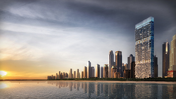 1/JBR will rise 46 floors and feature 163 units.