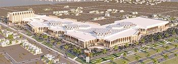 The Al Araimi Walk will be the largest shopping, entertainment and touristic  destination in the sultanate.