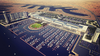 Al Khiran Project ... set to be the largest waterfront recreational tourism destination built by the private sector.