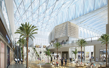 Phase One features Kuwait's first outlet shopping centre.