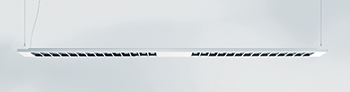 The new slimline louvre luminaire ... modern and minimalist.