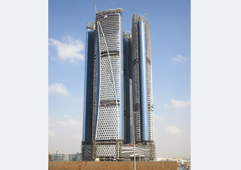 Damac Towers by Paramount ... a 250-m-high four-tower complex in Dubai's Burj area.