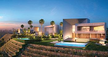 The Mirabilia villas ... interiors will be done by Roberto Cavalli.