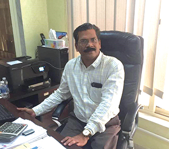 Prasad ... happy with the performance of Dynapac machines.