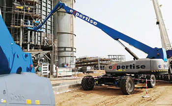 One of the units working at a plant in Saudi Arabia.