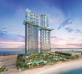 The Palm360 by Nakheel ... the tallest building on Palm Jumeirah.