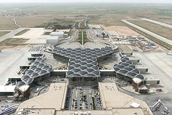 Queen Alia International Airport in Jordan ... J&P Overseas sells its stake.