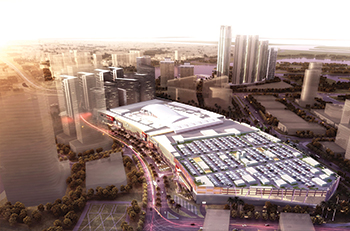 An artist's impression of Reem Mall.