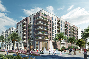 Sapphire Beach Residence ... 190 units complemented by  20 retail and F&B units.