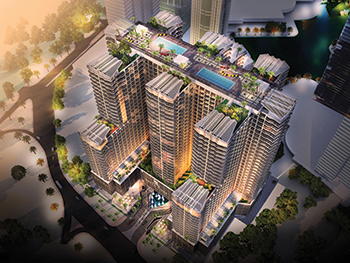 Se7en City JLT ... Seven Tides' first mixed-use development at Jumeirah Lakes Towers.