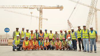 NFT-Potain trained 33 personnel at a key Riyadh Metro site.