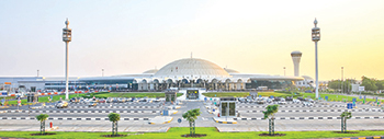 Sharjah Airport ... set for a $408-million expansion.