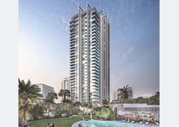 The 31-storey Banyan Tree Residences tower ... set for completion in June 2019.