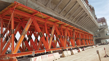 Special formwork was fabricated by ASF for RMD Kwikform for use on the metro project.