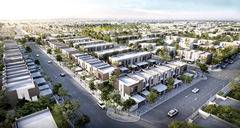 Bareem Townhouses ... 302 units released.