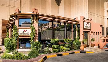 Al Bindaira café at Al A'ali Mall ... a key Reynaers project.