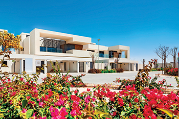 The West Yas community on Yas Island ... comprising 1,014 villas.