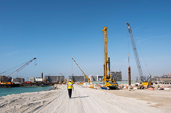 Emaar Development has commenced site mobilisation and enabling work for Beach Vista residences at Emaar Beachfront.