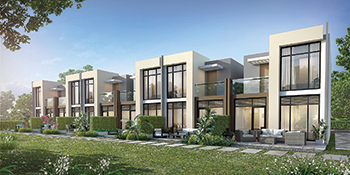 Homes at Akoya Oxygen in Dubai ... CSCEC to build major road and infrastructure works at the development.