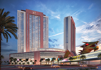 Dragon Towers by Nakheel ... contract to be awarded in Q3 2018.