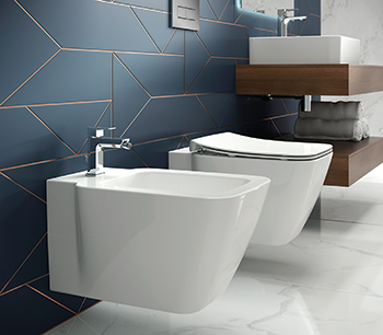 Strada II by Ideal Standard ... stylish and versatile ceramic range built on the success of the original Strada range.
