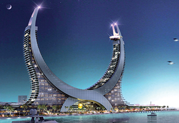 Katara Towers ... HBK Contracting to build Phase Two.