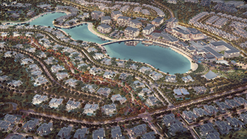 Sustainability rating ... Tilal Al Ghaf will include over 6,500 homes.