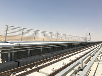 Al Sharq has carried out a range of steel fabrication works for the Riyadh Metro.