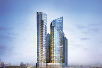 Aykon City ... a  flagship Damac master development.